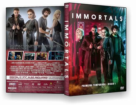 Immortals – 1ª Temporada Completa (2019) – 2 DISCOS – AUTORADO