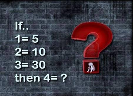 Solve logic number riddle