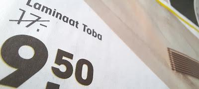 Kwantum laminaat Toba met veel korting