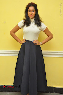 Telugu Actress Sindhu Affan Latest Pos in Black Skirt at Www.Meena Bazaar Movie Opening  0059.JPG