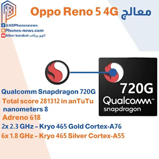 أداء هاتف Oppo Reno 5 4G
