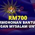 Permohonan Skim MySalam RM700 Bantuan Kewangan Kesihatan Kepada B40