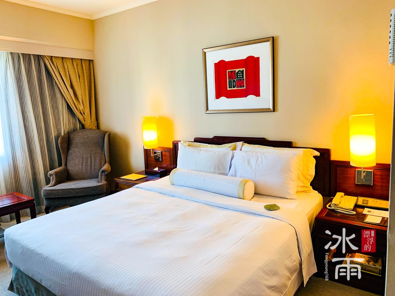 福華大飯店|房間床頭