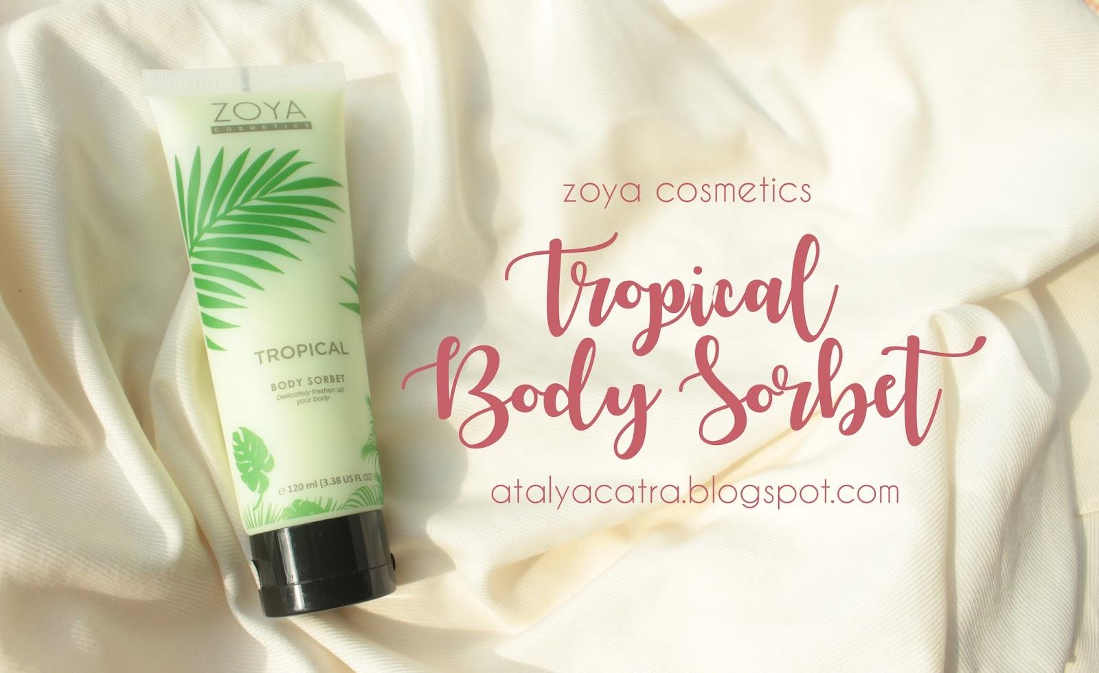 Zoya Cosmetics Body Sorbet Tropical Daftar Harga Terlengkap Mist 110 Ml 405828 Review