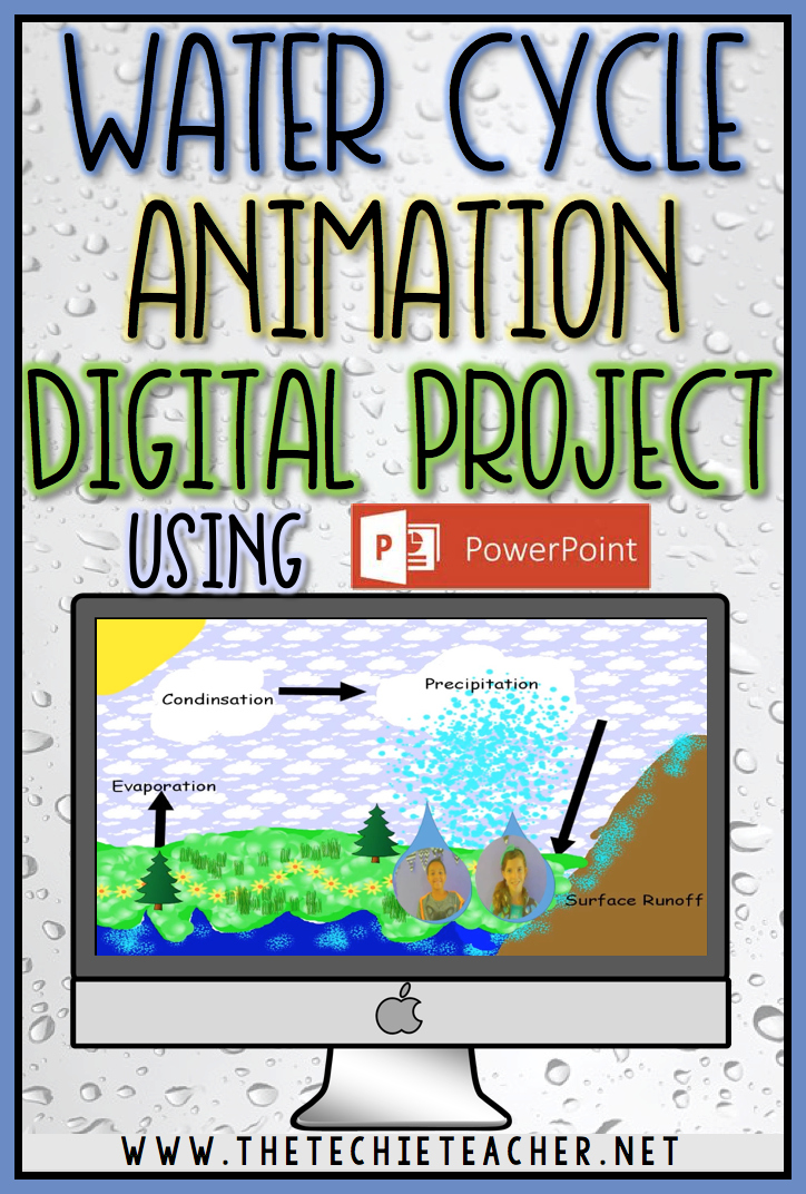 Water Cycle Animation Digital Project Using PowerPoint