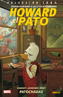 HOWARD EL PATO 1 PATOCHADAS  Marvel comic de Chip Zdarksy y Joe Quinones COLECCION 100% MARVEL