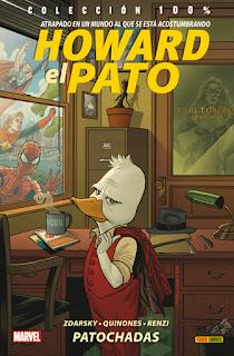 HOWARD EL PATO 1 PATOCHADAS  Marvel comic de Chip Zdarksy y Joe Quinones COLECCION 100% MARVEL