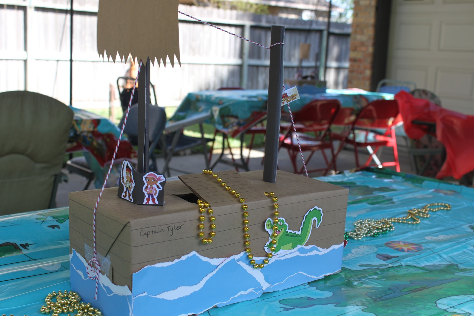 Corporate Crafters: Jake & The Neverland Pirates Party: Decor