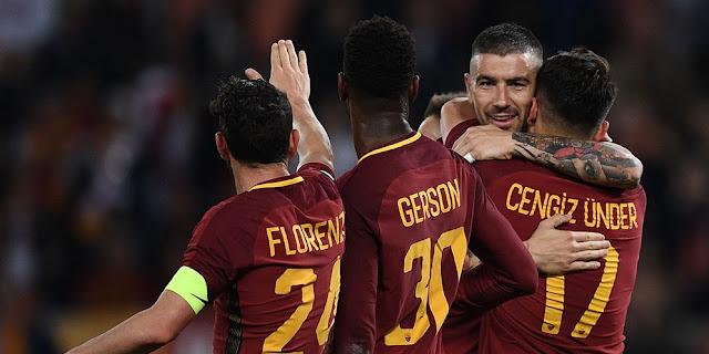 Cuplikan Gol Roma 2-1 Genoa   Serie A Pekan ke 33