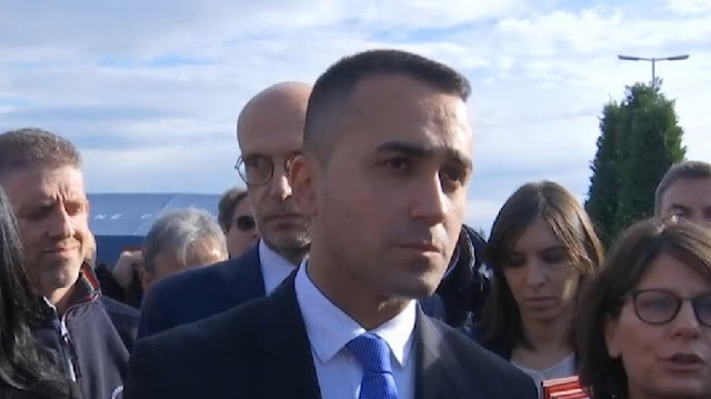 Italian Minister Luigi di Maio confirms Italy's support for integration and reconstruction after the earthquake