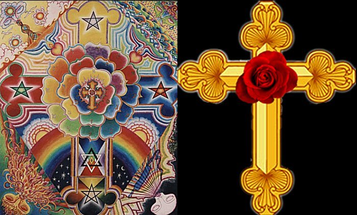 Rosicrucian, Rosy Cross, Occult