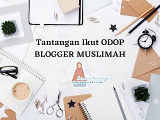 Odop blogger muslimah