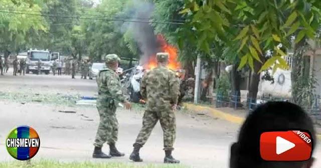 Carro Bomba que estalló en Colombia fue armado en Venezuela y pasado por militares venezolanos