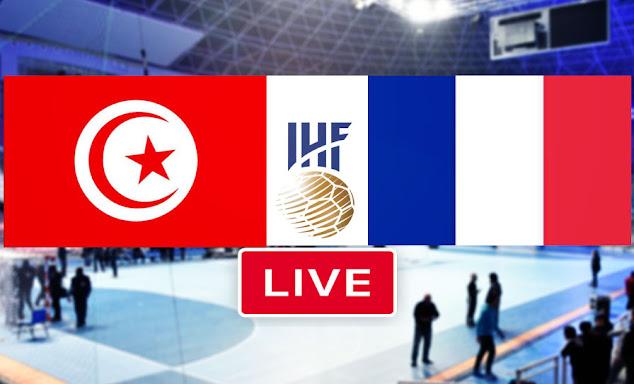 Watch Live stream Handball Match France vs Tunisia men s tokyo handball qualification 2021