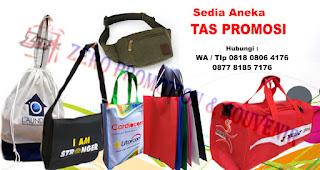 Goodie Bag/Tas Spunbond merupakan salah satu rekomendasi souvenir kantor menarik untuk karyawan.