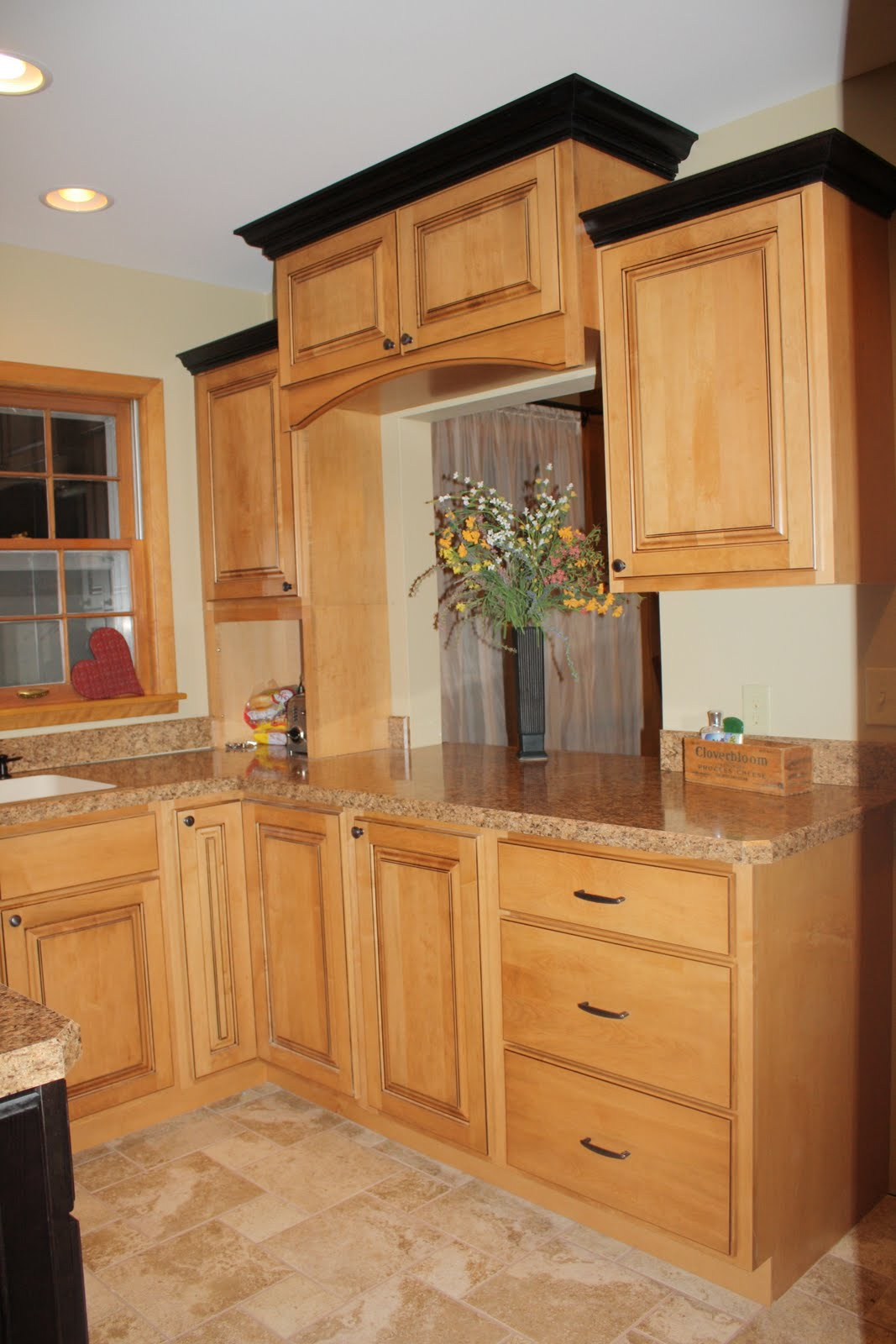 Decorative Molding Kitchen Cabinets Storage Carts The Huinker Family Blog May 2011