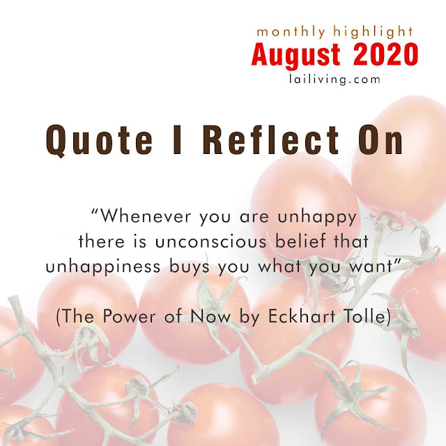 august quote lailiving