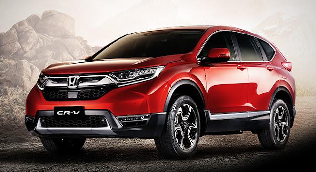 All New 2018 Honda CR-V Red SUV