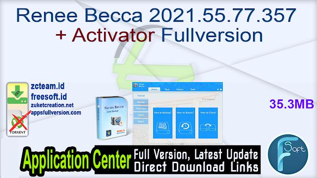Renee Becca 2021.55.77.357 + Activator Fullversion