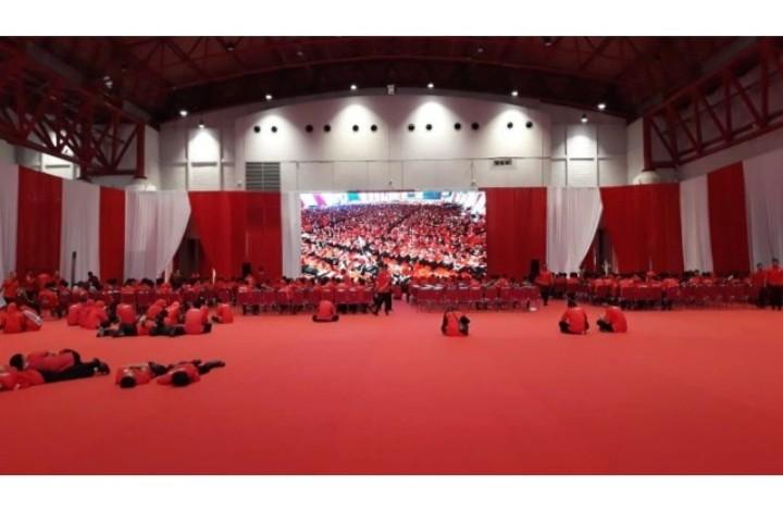 Waduh! Begini Reaksi Kader PDIP saat Megawati Pidato