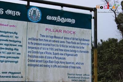 Tourism board @ pillar rocks
