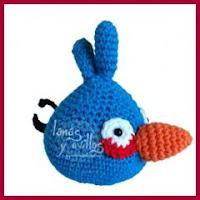 Angry Bird azul