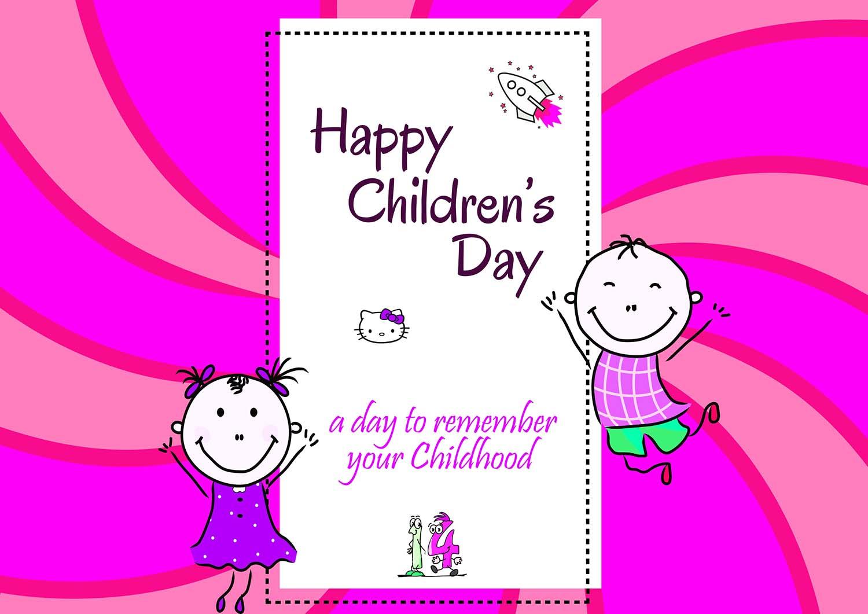 Happy Children's Day Status, Message, Quotes in English - Badhaai com