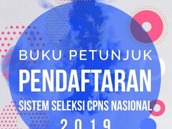 Download Buku Petunjuk dan Cara Pendaftaran SSCASN CPNS 2019