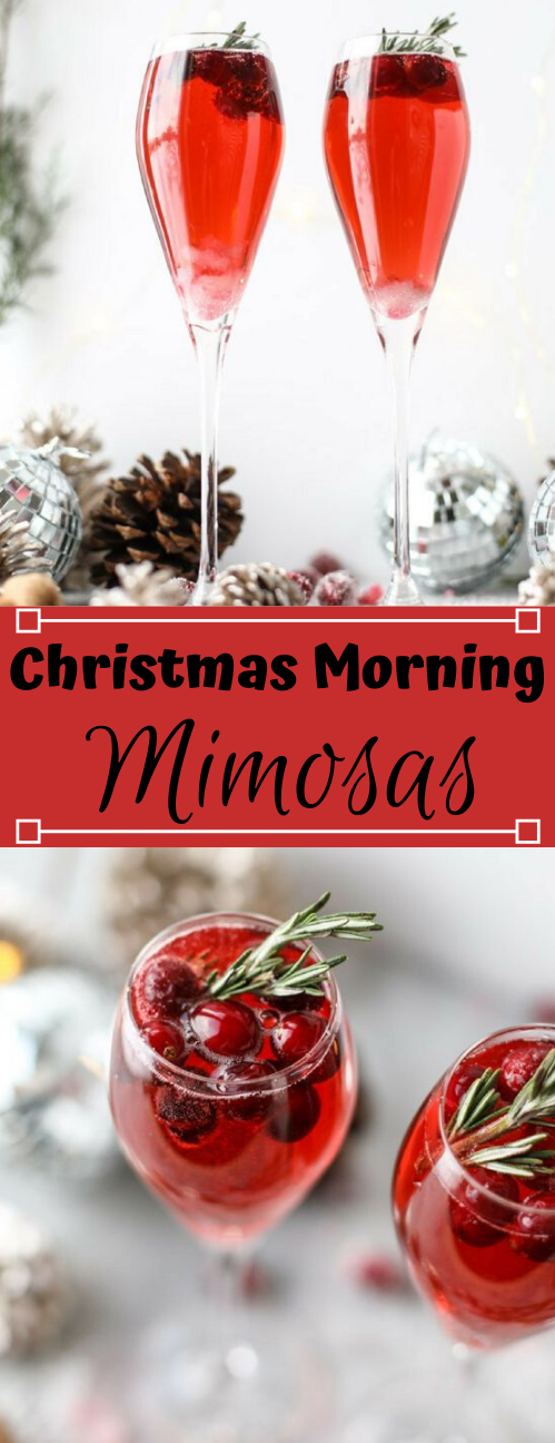 CHRISTMAS MORNING MIMOSAS #sangria #cocktail #part #healthydrink #fresh