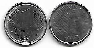 1 centavo, 1997