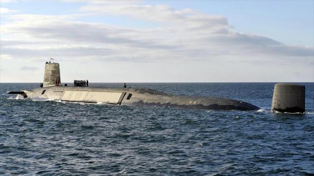 """""""Ciberataque a submarinos nucleares británicos sería catastrófico"""""""