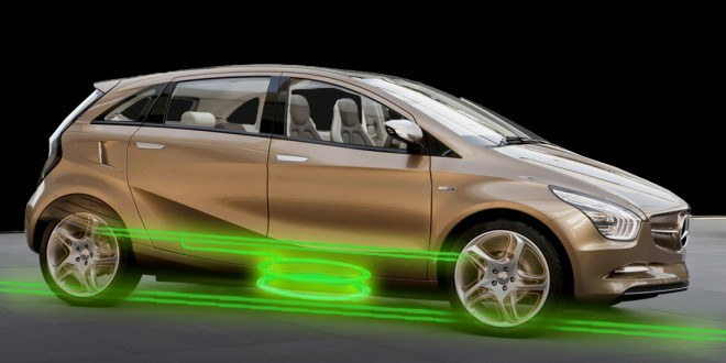 The secret of Wireless Charging Car