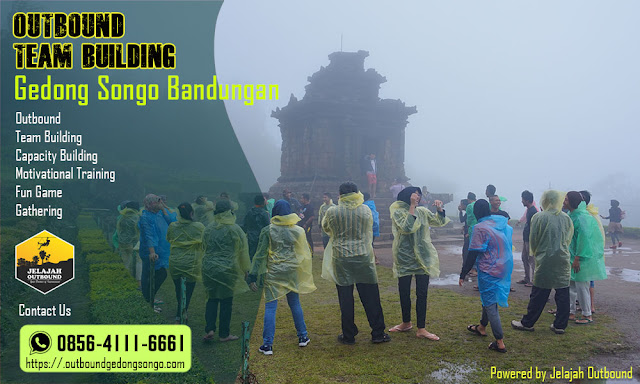 outbound team building gedong songo