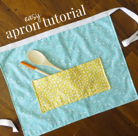 Aprons made from fat quarters pattern