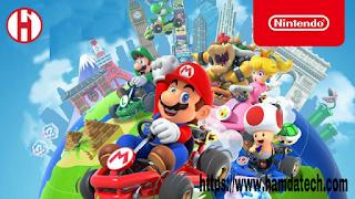 ظهور نسخة جديدة من لعبة Mario kart tour  نسخة الاندرويد