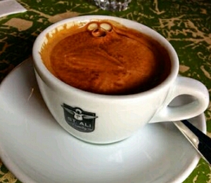 Black coffee the king of coffee