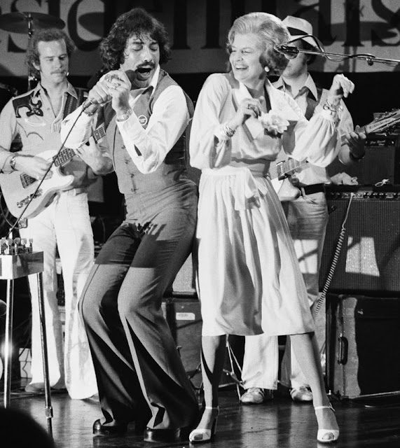 1976 betty ford and tony orlando RNC Kansas City