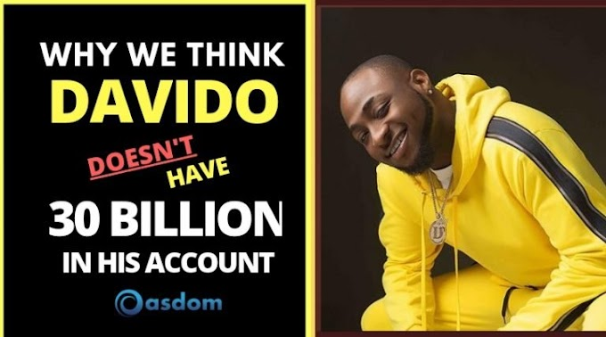 I Don't Have N30bn In My Account —Davido >>netloadedng