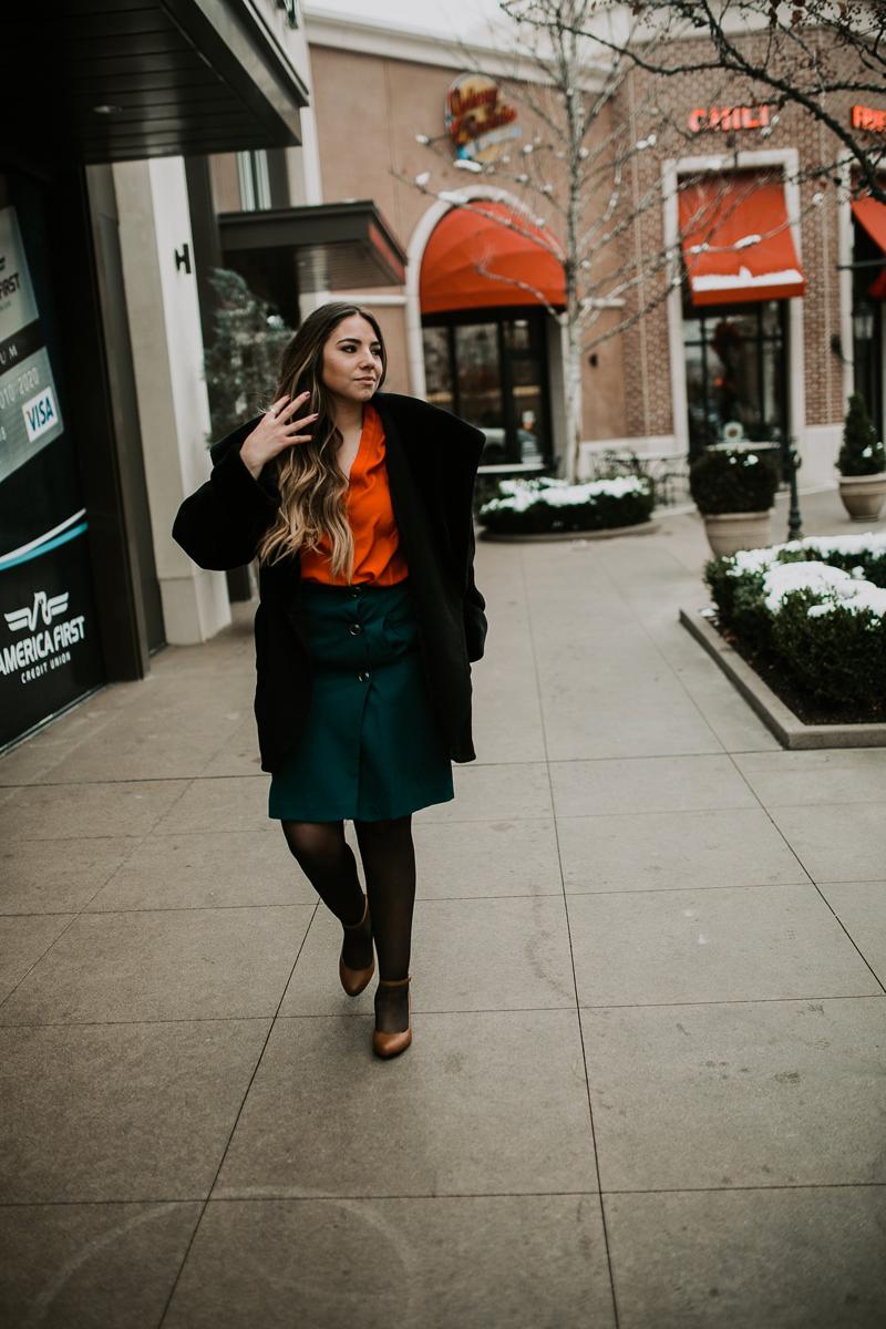 wool coat, fur coat, vintage coat