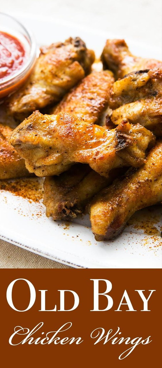 Old Bay Chicken Wings Recipe