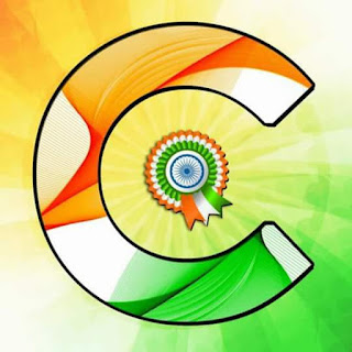 tiranga alphabates for 15th august