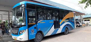 bus brt banjarkuala yang melayani rute banjarmasin banjarbaru