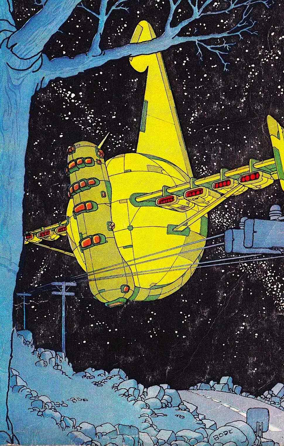a Vaughn Bode illustration, 1968
