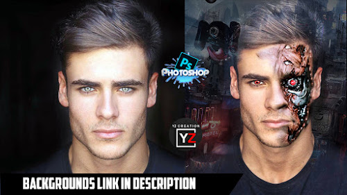 terminator photoshop tutorial - Backgrounds -photosohptutorial |