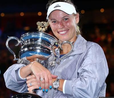 australian open 2018, Caroline Wozniacki, Simona Halep, womens single,