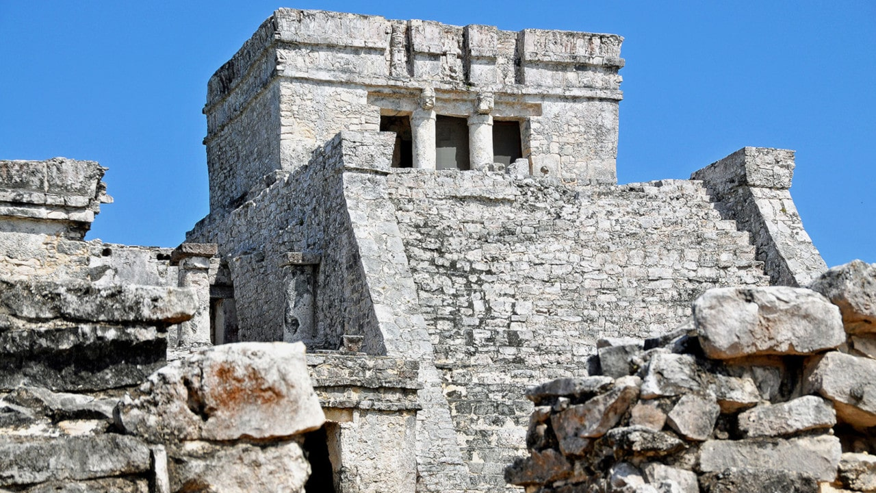 architecture of the mayas