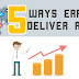 5 Ways to Get Maximum ROI from ERP System - Infographic