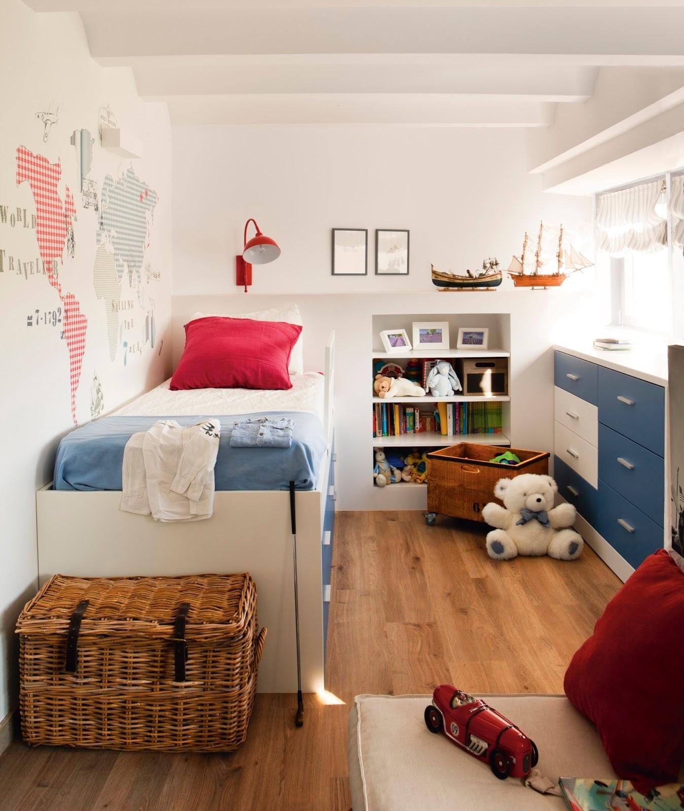 Casa tr s chic quarto de crian a - Papeles pintados juveniles ...