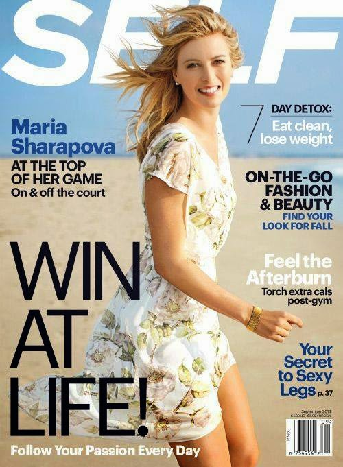 Maria Sharapova covers Self US September 2014