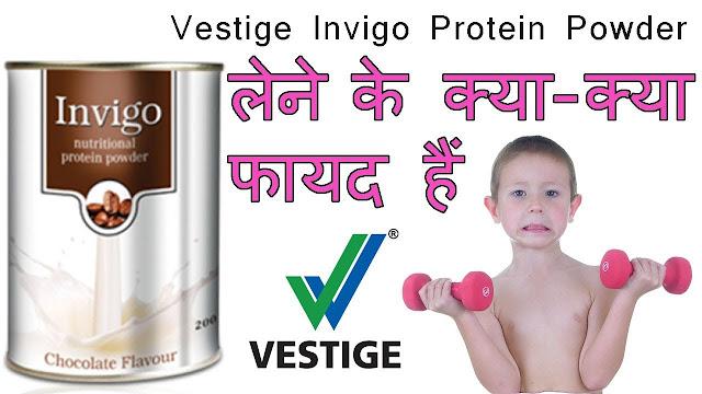 Vestige Invigo Protein Powder Benefits